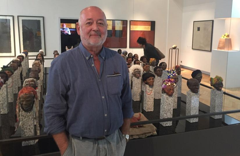 Besuch von Leons »Menschen« im Museum der Völker am 9. Sept.2017